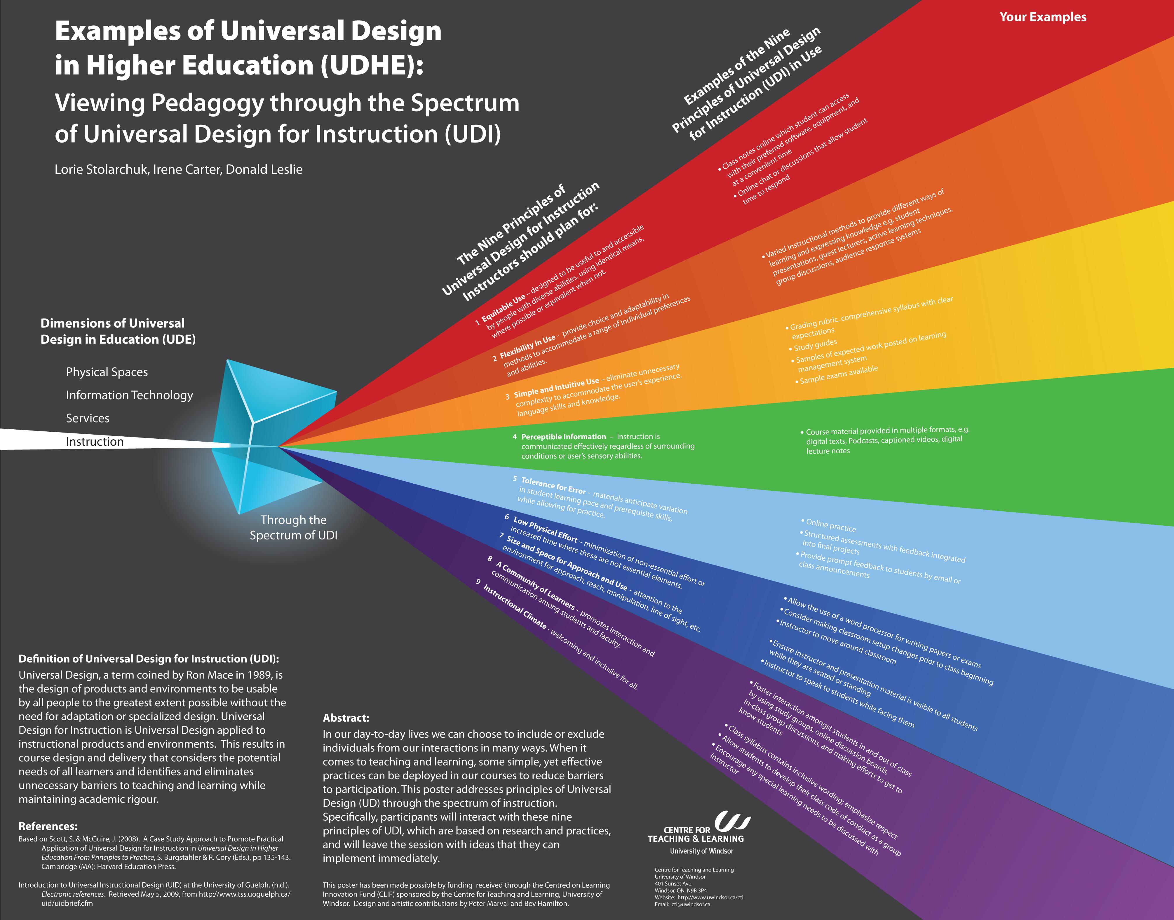 Universal Design For Instruction Lorie S Eportfolio