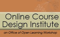 Online Course Design Institute