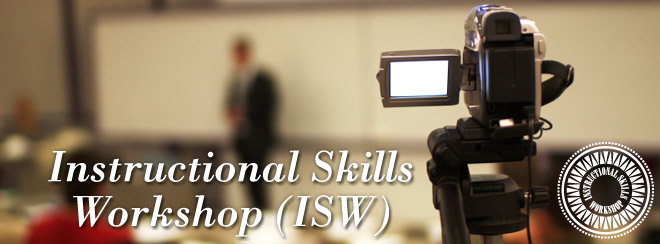 Instructional Skills Workshop (ISW)
