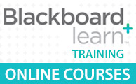 Blackboard Learn Training - Online Courses